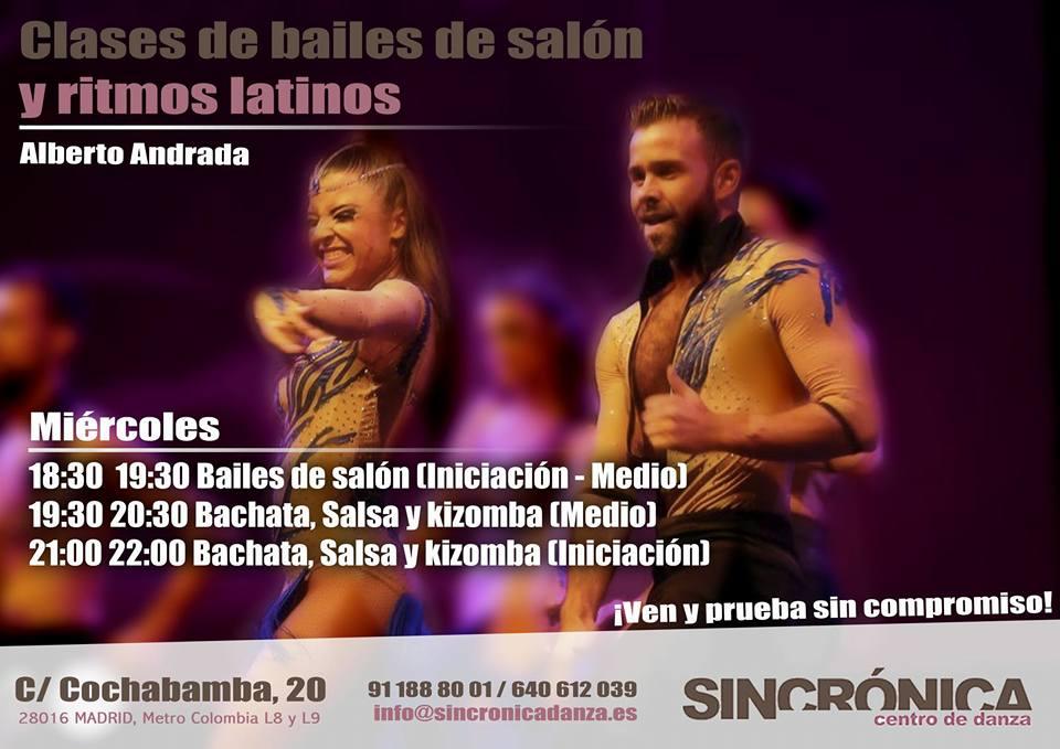 Bailes de Salon y Ritmos Latinos
