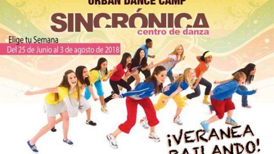 campamento de verano de Sincrónica Danza